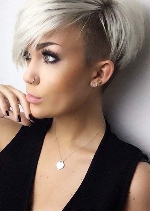 nape undercut hairstyle female