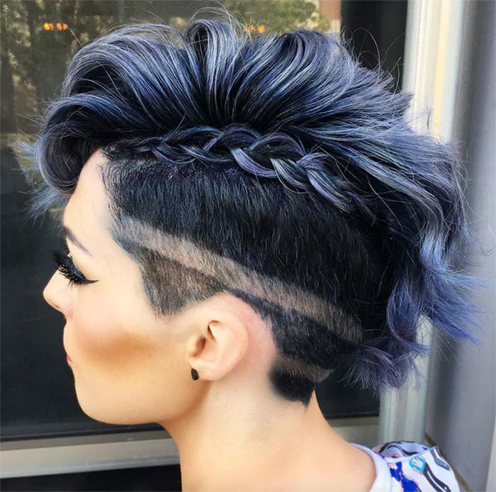 undercut female design