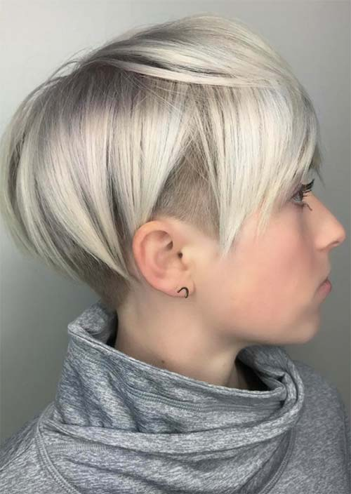 undercut female hair
