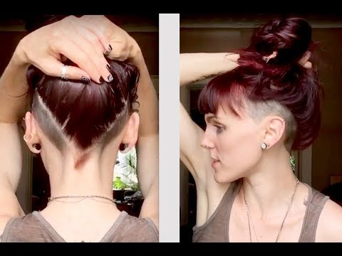 undercut for asian female