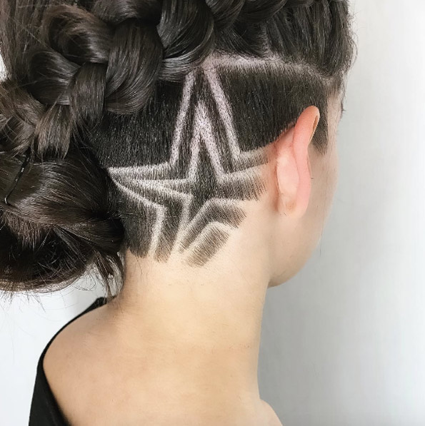 undercut haircuts for females