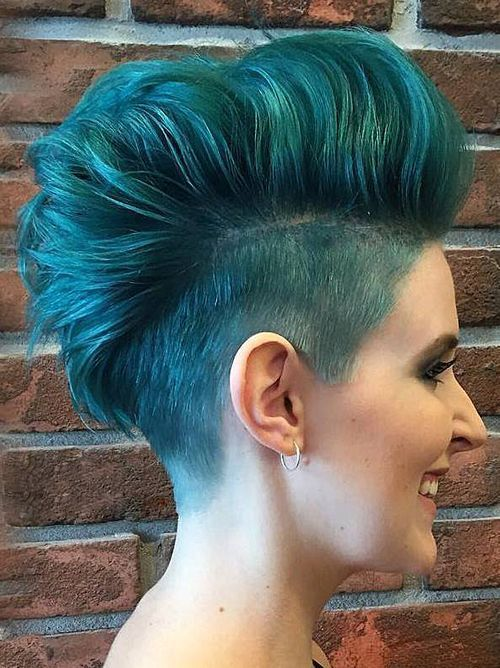 undercut hairstyle female 2019