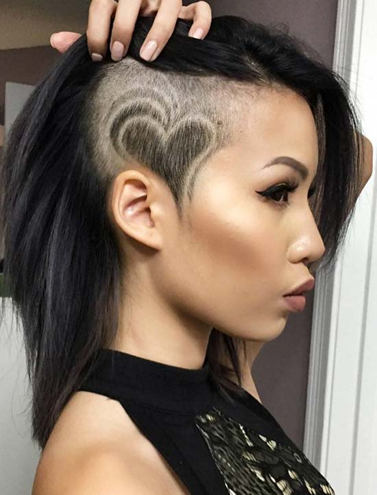 undercut tutorial female