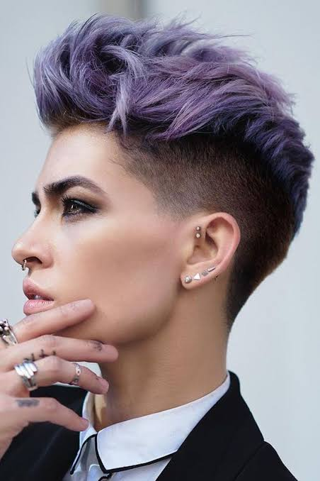 Short Undercut Hairstyle Female Ideas 2019