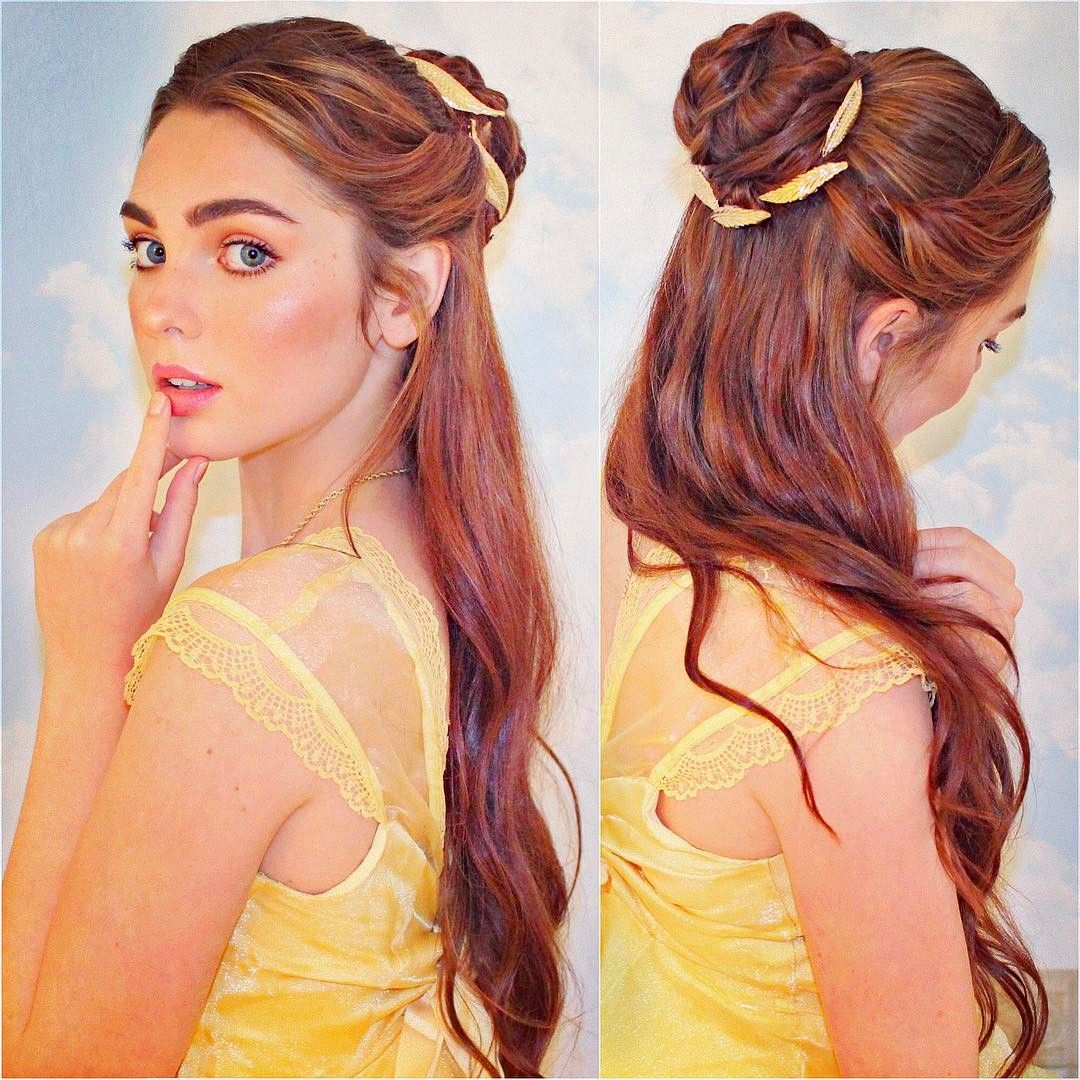 belle hairstyle