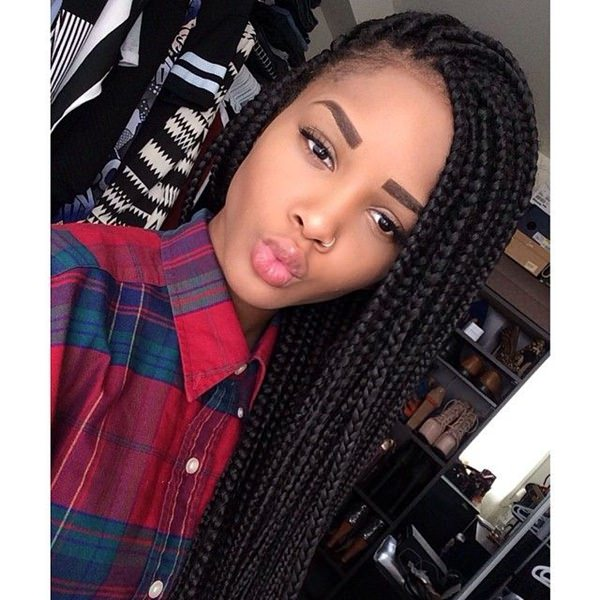 black hair styles braids