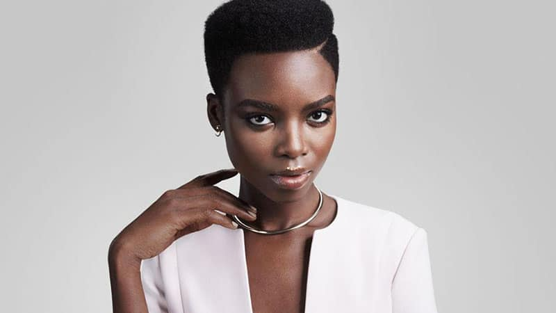 hair styles for black women with short hair