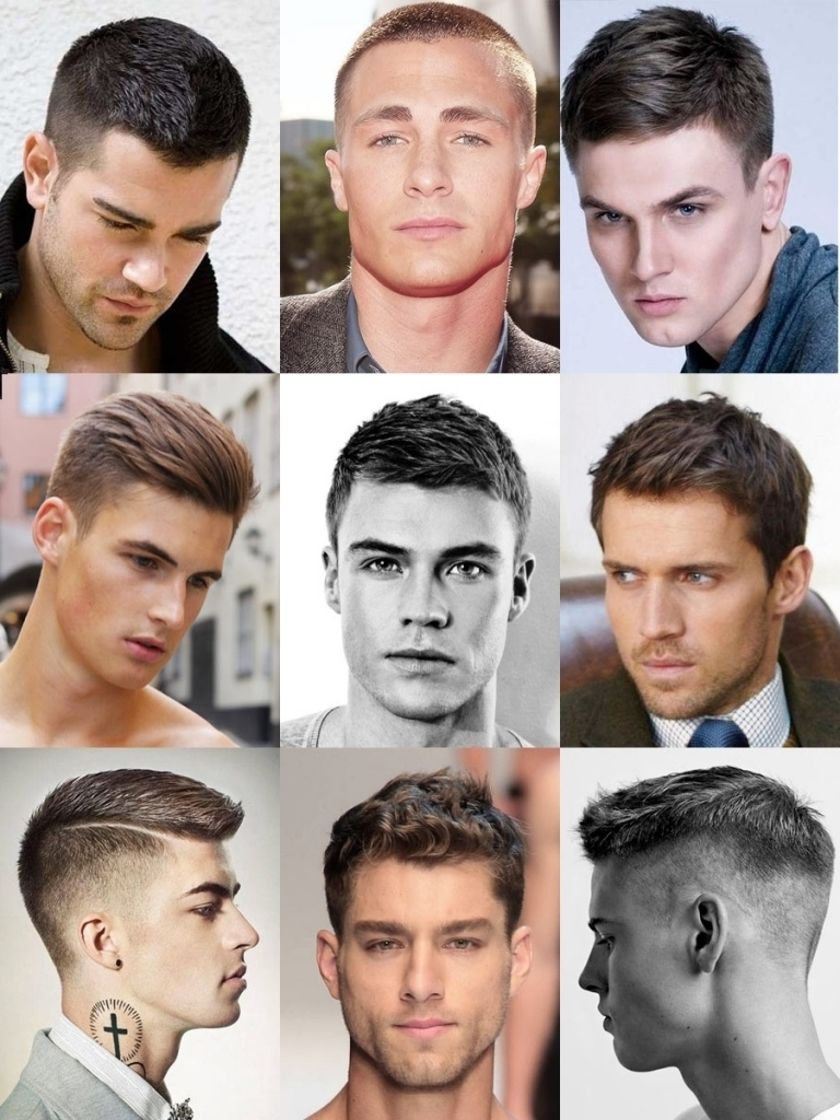 hairstyle names for guys