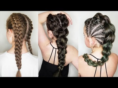 natural hair braids styles