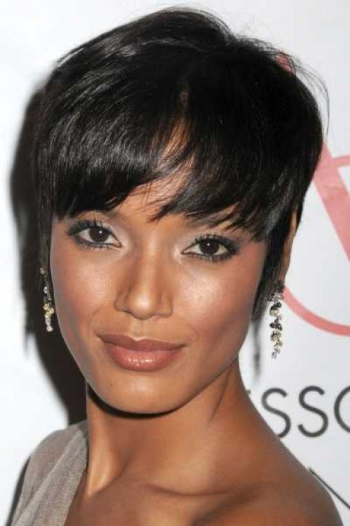 short weave hair styles for black women
