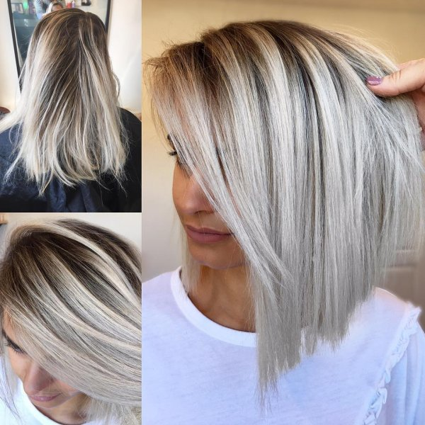 Lovely Bob Haircut For Medium Length Hairs over 50
